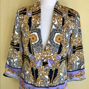 💕 LAUNDRY by Shelli Segal Rococo Printed Jacket 2